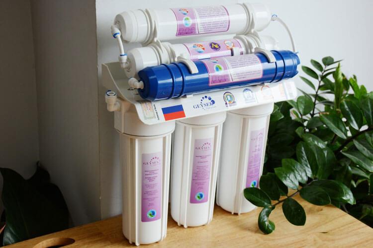 Máy lọc nước Nano Geyser 6 cấp lọc TK6